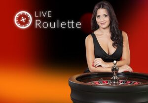 live roulette logo