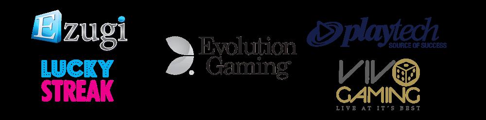 top tier live casino suppliers